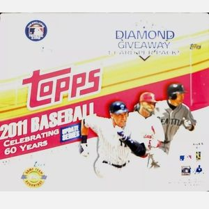 2011 Topps baseball update hobby box